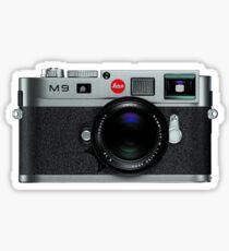 Leica M9 Grey Front Sticker