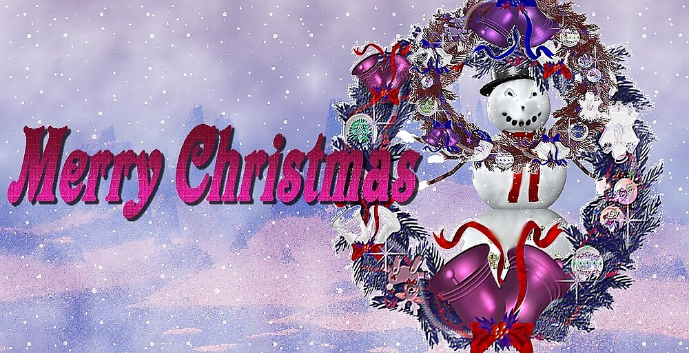 Merry Christmas by eraline