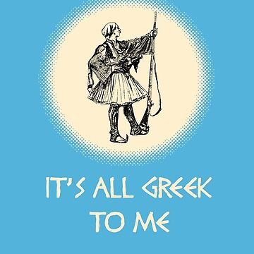 It's all Greek to me by miniverdesigns