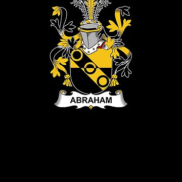 Abraham Coat of Arms - Family Crest Shirt by FamilyCrest