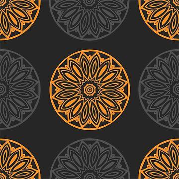 Fall Mandala Pattern by Craftvolphan