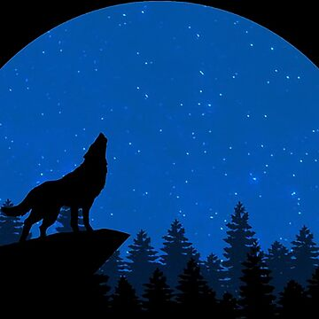 Howling Wolf by Misterfreaks