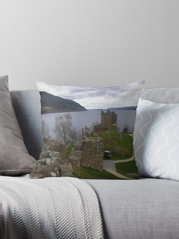 Urquhart Castle, Loch Ness, Scotland by MagsWilliamson