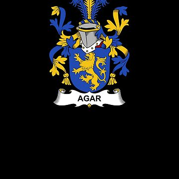 Agar Coat of Arms - Family Crest Shirt by FamilyCrest