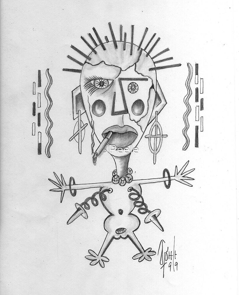Picassoesc Doloris by James Peele