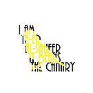 I AM THE CANARY by WonderTwinC