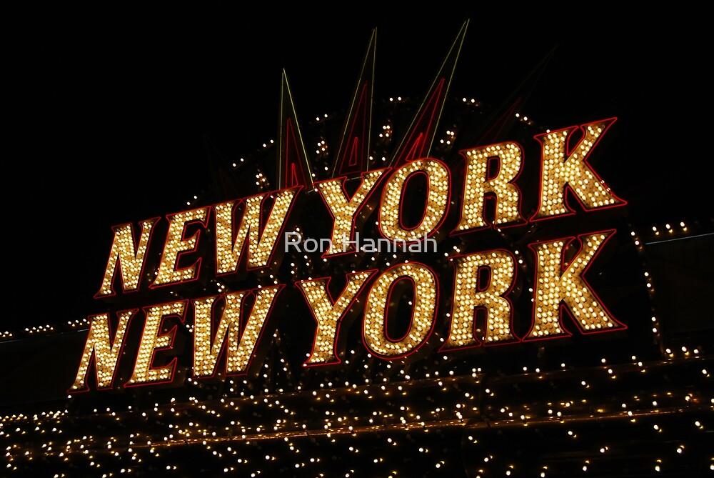 NYNY by Ronald Hannah