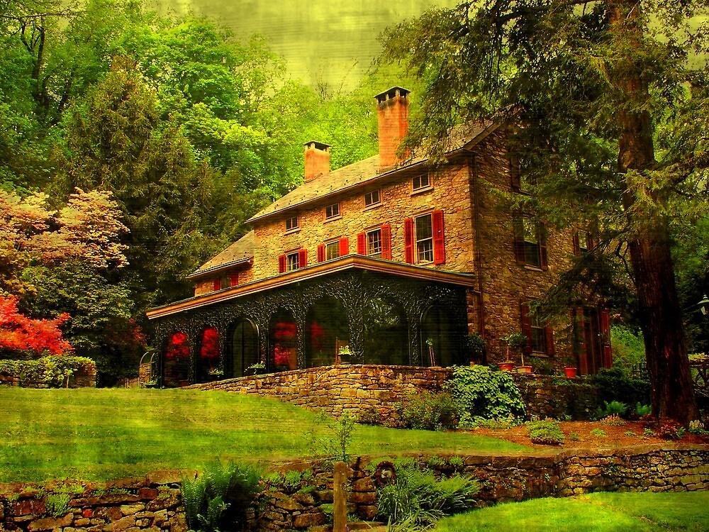 Cuttalossa farmhouse..... by DaveHrusecky