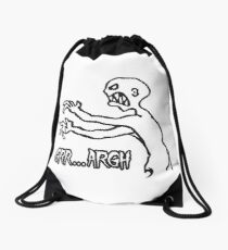 Grr Argh, Monster, Buffy the Vampire Slayer, Mutant Enemy, 90s, BTVS, Zombie, Joss Whedon, Angel, Buffering, Pop Culture, Zombie Drawstring Bag