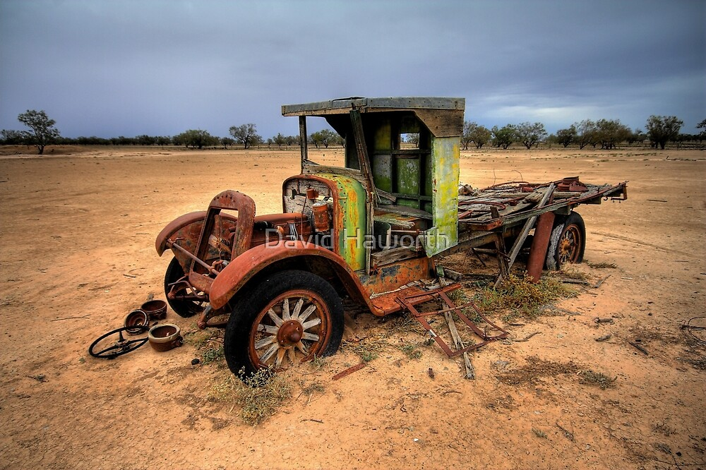 Jalopy Ute by David Haworth