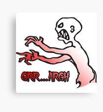 Grr Argh, Monster, Buffy the Vampire Slayer, Mutant Enemy, 90s, BTVS, Zombie, Joss Whedon, Angel, Buffering, Pop Culture, Zombie Canvas Print