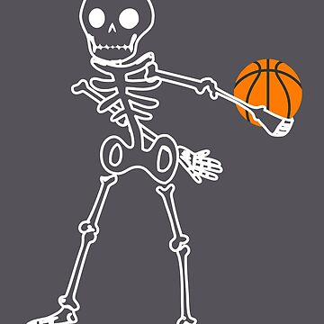 Halloween Skeleton Basketball Flossing by melsens