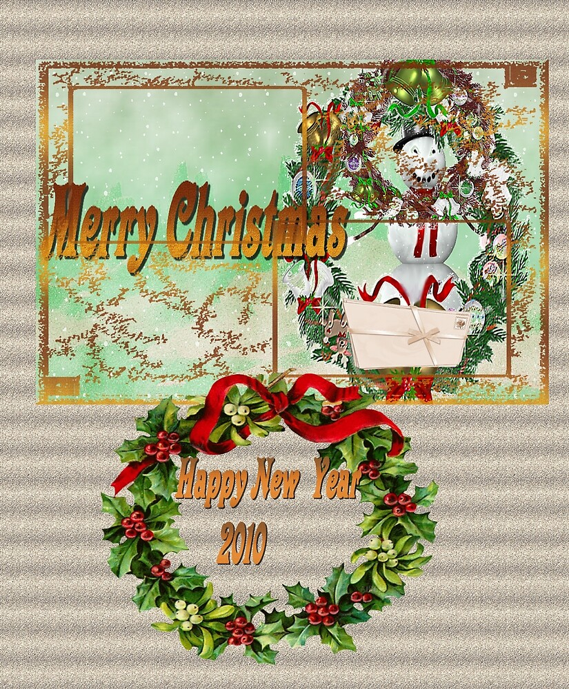 Merry Christmas and Happy New Year 2010 by eraline
