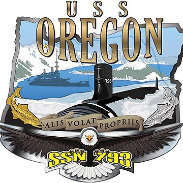 USS Oregon SSN-792 by Spacestuffplus