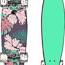 Skateboard Longboard by stefiijuliette