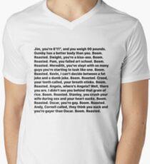 Michael Scott's Boom Roasted Speech V-Neck T-Shirt