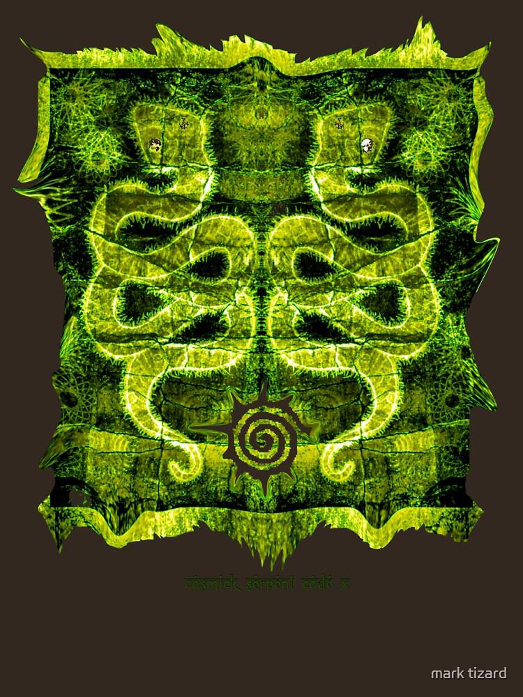 cosmick serpent code X  by burningark