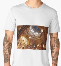 At An Angle Inside Saint Matthew's Cathedral Men's Premium T-Shirt