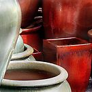 """"""" Texture with Pots """" by canonman99"""