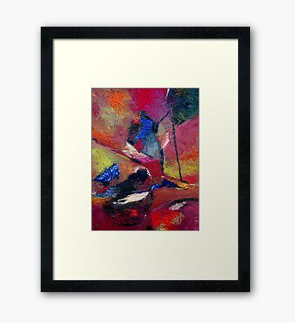 Verily Vivacious Framed Print