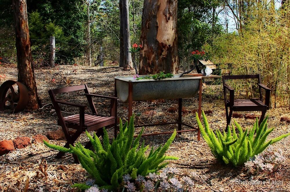 Sunny Ridge Gardens I by Sherrianne Talon