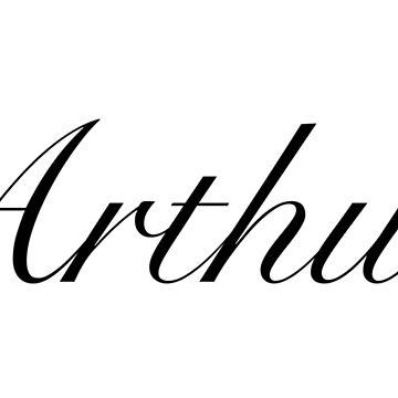 Arthur - cursive style by FTML