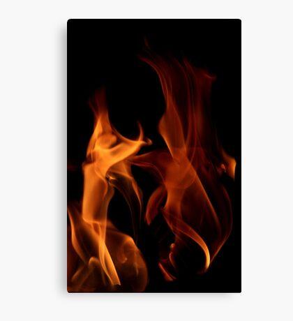Flame Dancers Canvas Print