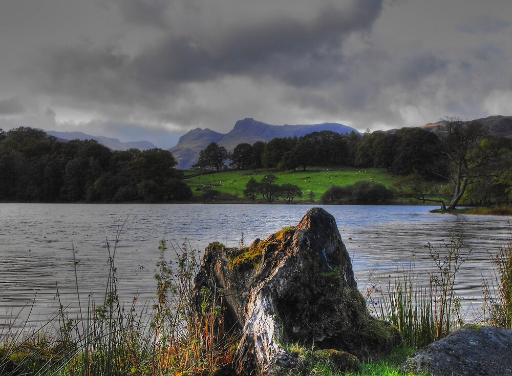 loughrigg tarn by nasherblue