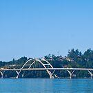 Alsea Bay Bridge 1991 by Bryan D. Spellman
