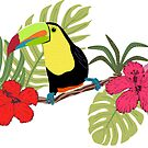 Tropical Toucan by stefiijuliette