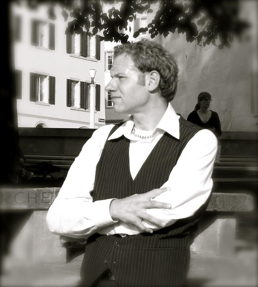 Self-Portrait by Christian Langenegger