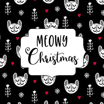 meowy christmas by alphabetsoup