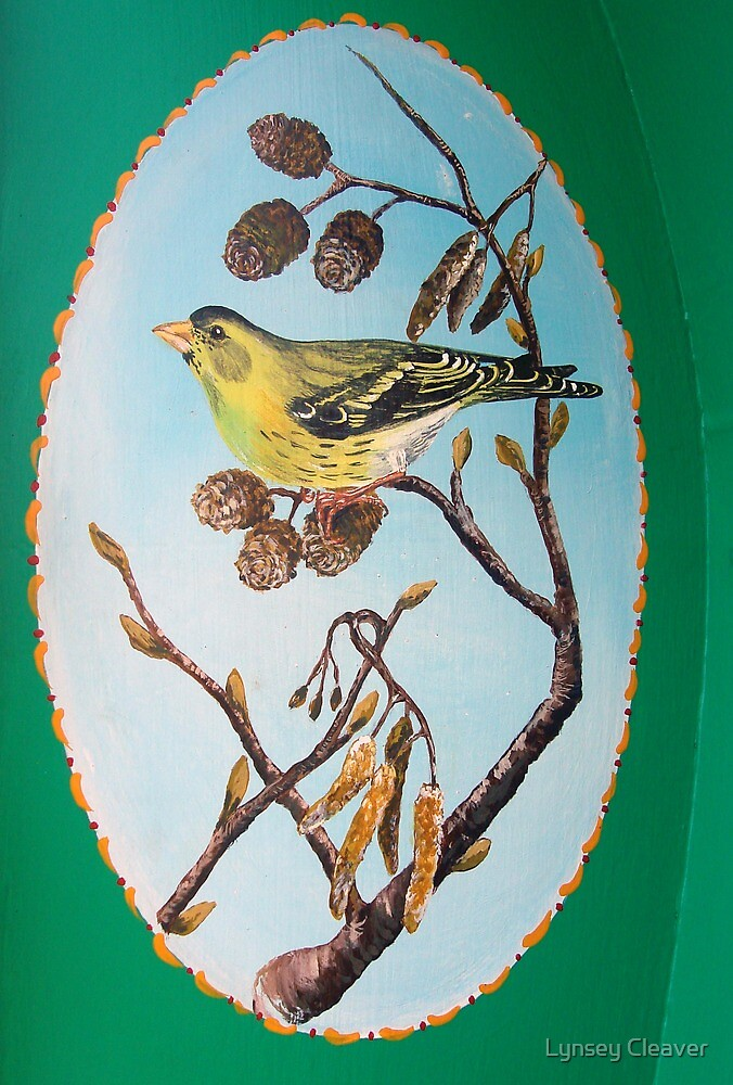 Siskin by Lynsey Cleaver