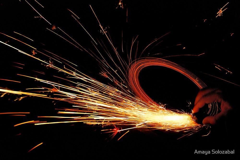 Sparks by Amaya Solozabal