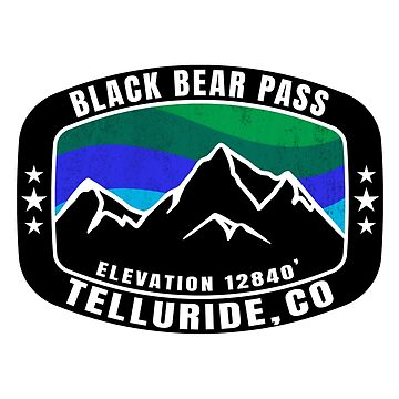 Black Bear Pass Telluride Colorado by MyHandmadeSigns