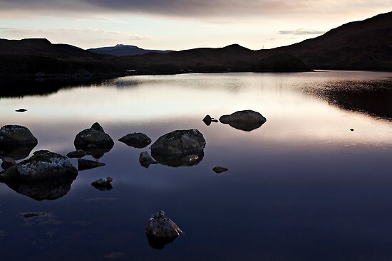 Rannoch Moor - As The Light Fades by Kevin Skinner