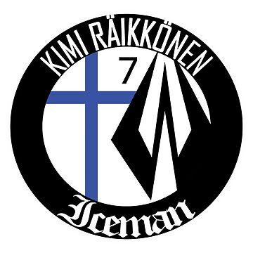 Kimi Raikkonen Emblem by evenstarsaima