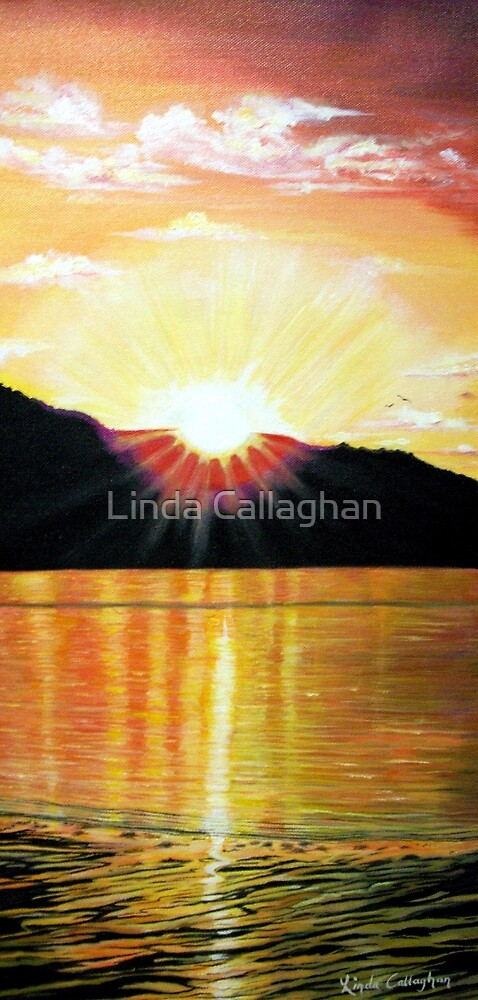 Sizzling Sunset  by Linda Callaghan