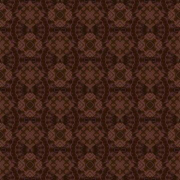 Brown patchwork by fuzzyfox