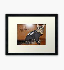 Lola's Halloween Framed Print
