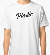 Plastic 1 Black Classic T-Shirt