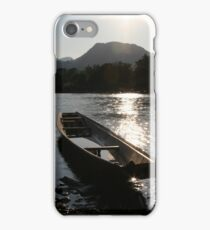 Boat, Vang Vieng, Laos iPhone Case/Skin