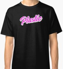 Plastic 1 Hot Pink Classic T-Shirt