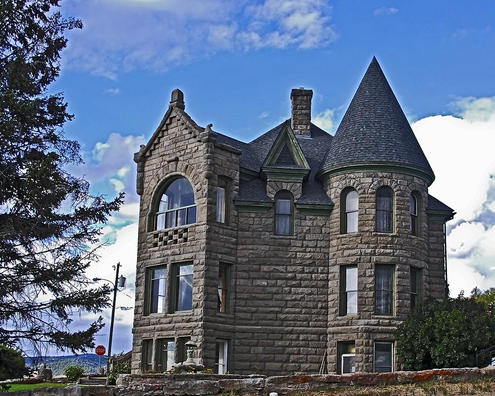 The Castle at White Sulphur Springs by Bryan D. Spellman