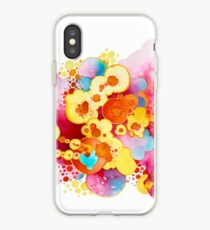 Boom! Everything - Watercolor Painting iPhone Case