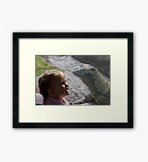 Dragons are Real! Framed Print