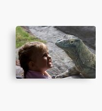 Dragons are Real! Canvas Print