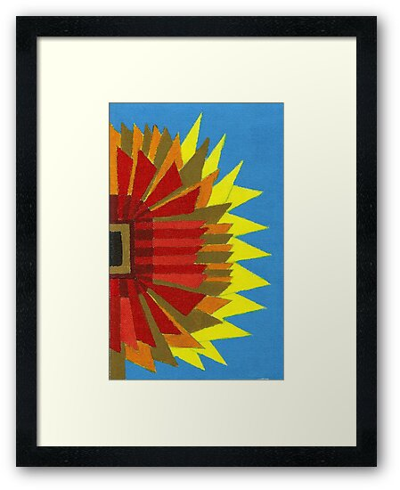 Abstract Study - Sunflower by Oldetimemercan