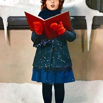 Shirley Temple Christmas Caroling  by AtticSalt