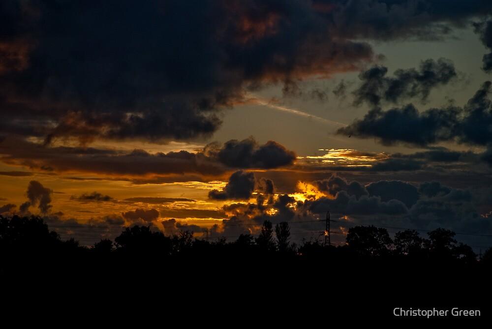Dark Autumn Evening by Christopher Green